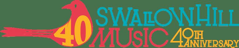 Swallow Hill Music 40th Anniversary Logo