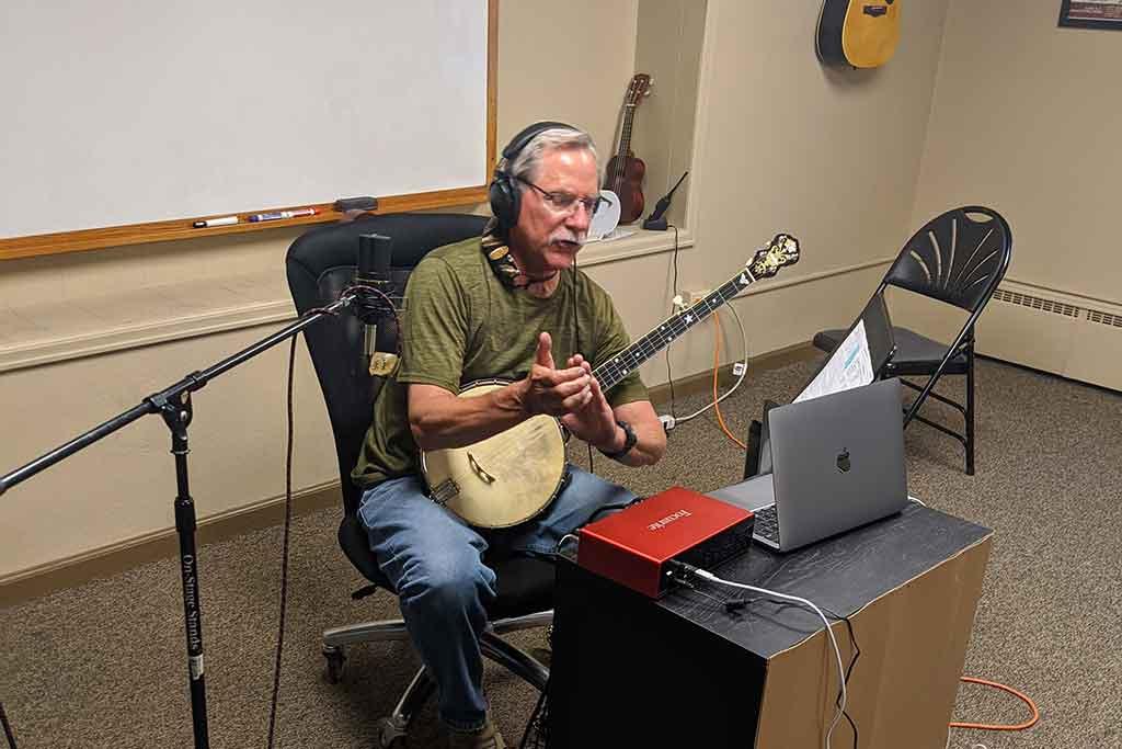 Online music instructor