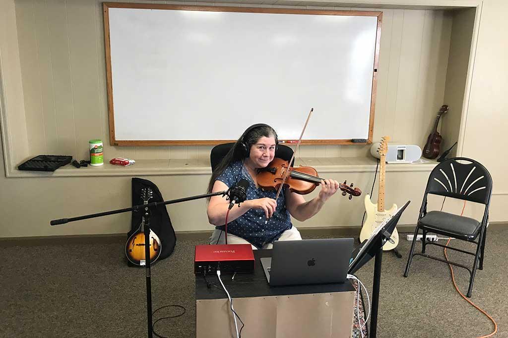 Violin online instructor